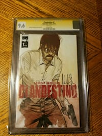 Signed and Graded Clandestino Comic Syracuse