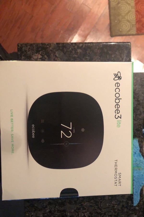 Ecobee 3 lite Smart Thermostat (Unopened) 590553f8-71f7-4fb9-bf96-3644a497a56b