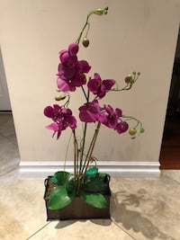 3 ft. artificial orchids. Good condition.
