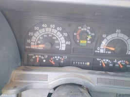 2000 GMC 7500 Snow Plow and Dump truck