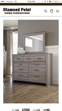 Queen bed dresser mirror  Owings Mills, 21117