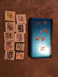 Nintendo 3DS with 10 games 540 km