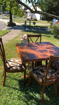 brown wooden dining table set Toms River, 08755
