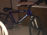 blue and white Schwinn hardtail mountain bike Winnipeg, R2R 1G9