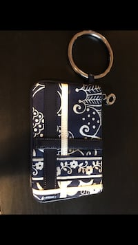 black and white floral leather tote bag New Orleans, 70119