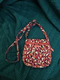 red and white floral crossbody bag Seminole, 33777