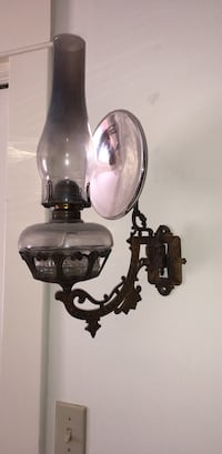 Antique Wall oil lamp Springfield, 01105