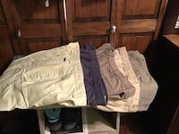 5 pair men's shorts size 40........out of 5, 4pair are BRAND NEW, FINISH SUMMER OUT WITH THESE AND GET A START ON THIS COMING SUMMER! Smithsburg, 21783