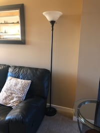 3 way floor lamp with bulb MOUNTAINVIEW