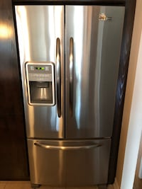 Stainless steel french door refrigerator Laval, H7T