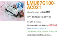 GPS TRACKING UNIT Charleston, 25302