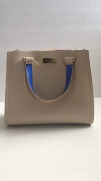 gray and blue leather tote bag Las Vegas, 89115