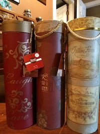 3 wine gift containers / boxes. Bel Air, 21015
