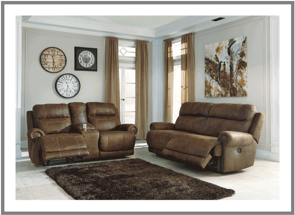 Recliner Sofa Ashley Furniture Loveseat Power Reclining Sectional