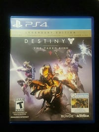 Destiny The Taken King PS4 game case