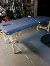"""Golden Ratio Woodworks 31"""" wide massage/acupuncture table"""