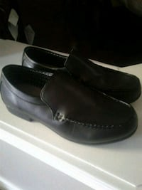 Black dress shoes by George size 8 Kitchener, N2K 4J7