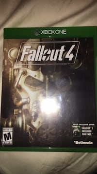 Fallout 4 Xbox One game case Springfield, 97477