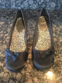 Women's Mudd Black Heels 1445 mi