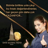 EMİR GLOBAL prelaunch.global/K7KKSF İzmir