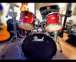 Red Pearl Drum