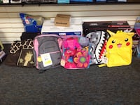 Back packs &a Baby Bags Winder, 30680