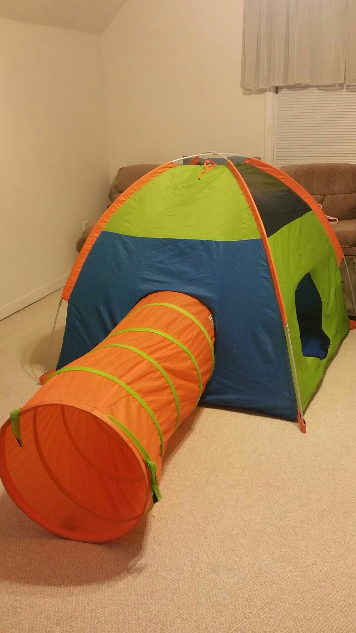 Used Pacific Play Tent Tunnel storage bag for sale in Fayetteville - letgo & Used Pacific Play Tent Tunnel storage bag for sale in Fayetteville ...