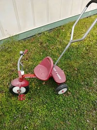 Radio flyer starter trike with working bell