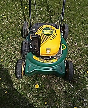 Green Spray Paint For Lawn Mower