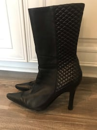 Nine West, leather, size 7 Women's Boots Reading, 19610