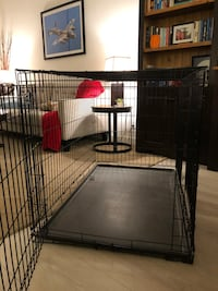 XL Wire dog crate 48L x 30 wide x 33 high
