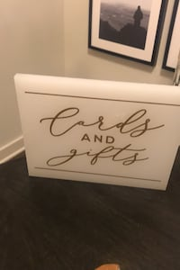 Wedding Sign - Cards and Gifts