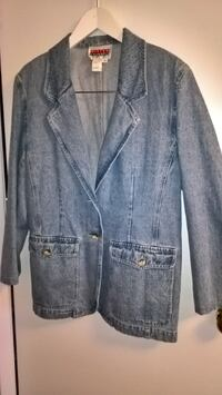 Jeans Blazer/Jacket - Size14 - Nice for Tall, Slim or Ave. Build  -  NEW Mississauga