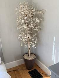 White Faux Aspen Tree