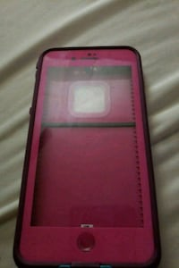 Pink and teal lifeproof iPhone 7s plus case  San Angelo, 76901