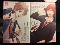 Manga : rainbow days tome 1 et 2 Le Vésinet, 78110