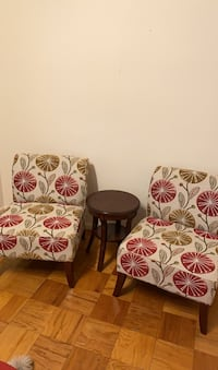 Set of sofas and table