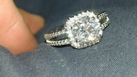 925 sterling silver engagement ring  size 7 Hereford, 85615