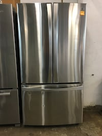 Kenmore stainless steel French door fridge  Pompano Beach, 33069