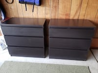 Ikea 3 Drawer Dressers $30 each or 2 for $50 today only! Livonia