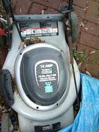 electric mower  quit running /goes in and out
