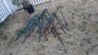 Chicken wire fence post Stakes Bonney Lake, 98391
