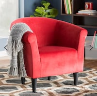 Red Round Chairs SET OF 2 Arlington, 22205