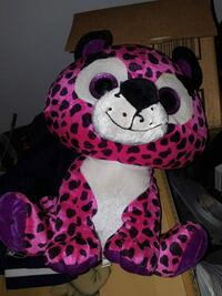 white, black, and pink animal plush toy New Haven, 06511