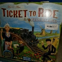 Ticket to ride Netherlands  Indianapolis, 46224