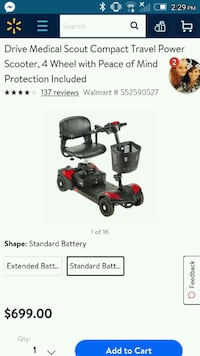 black and red Craftsman push mower screenshot 879 mi
