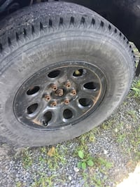 """Set of four 17"""" Rims and Tires  Corfu, 14036"""