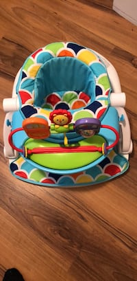 Baby's floor seat with toy tray Richmond, V6Y