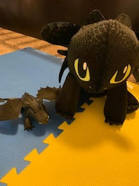Toothless from build a bear and a toy Edmonton, T5T 7E9
