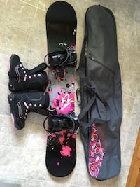 EUC Ladies snow board, bindings, boots and bag. Killarney, R0K